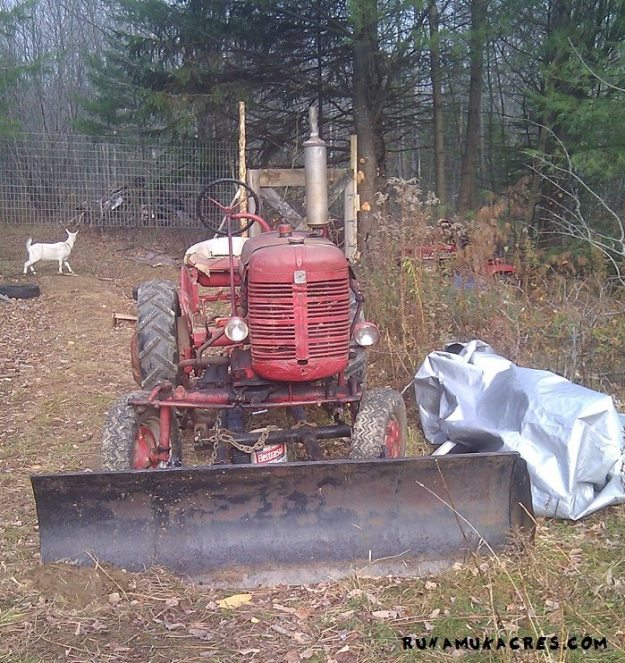 every farm needs a tractor