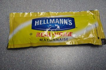Hold the mayo - in your purse