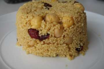 Orange Cranberry Couscous and Stop a Bad Day