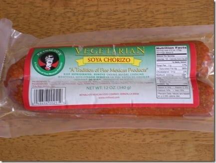 soyrizo thumb Mexican Meatless Monday