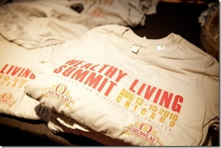 HLSshirts thumb Healthy Living Summit Top Ten List