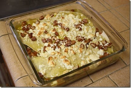 IMG 0548 thumb Mexican Meatless Monday – Mushroom Enchilada Casserole