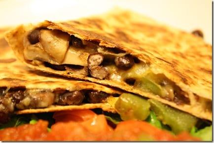 IMG 2700 thumb Mexican Meatless Monday – Black Bean Quesadillas