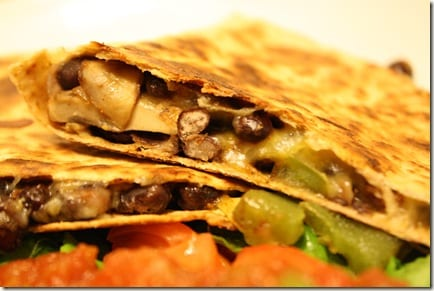 IMG 2700 thumb1 Mexican Meatless Monday – Black Bean Quesadillas