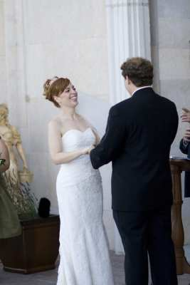 wedding laughing