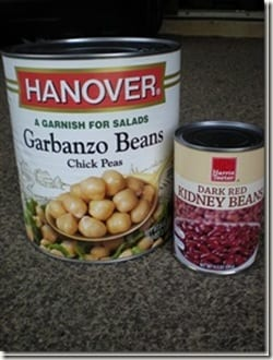 chickpeas compared to regular can thumb Sweet PB Chickpea Snack
