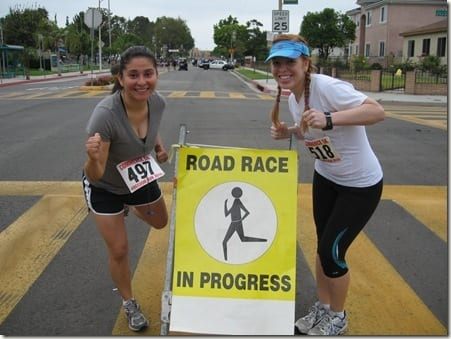 Susan and Monica at race thumb Your First 5K