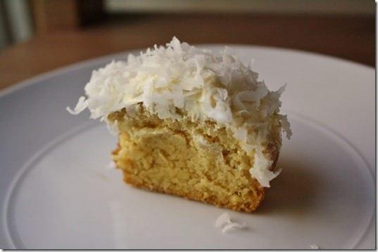 IMG 5074 800x533 thumb Stevia Sweetened Almond Cupcakes