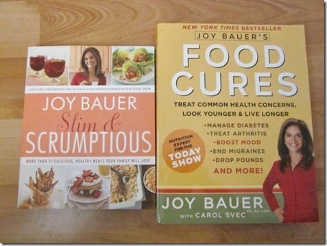 IMG 0101 800x600 thumb Giveaway   Food Cures by Joy Bauer