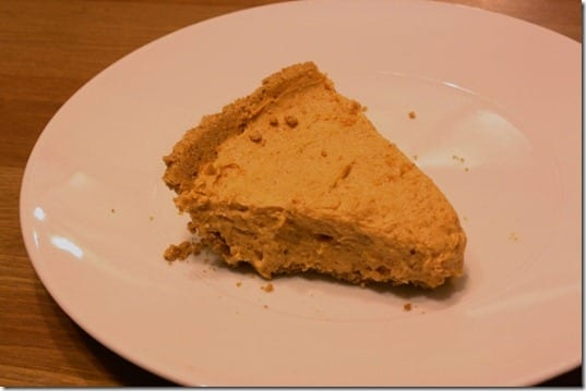 IMG 2368 800x533 thumb Healthy No Bake Pumpkin Pie