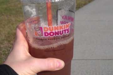 Monica Runs on Dunkin
