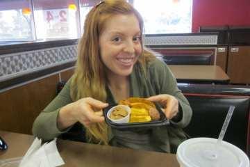 Wendy's Jr. Sweet Potato
