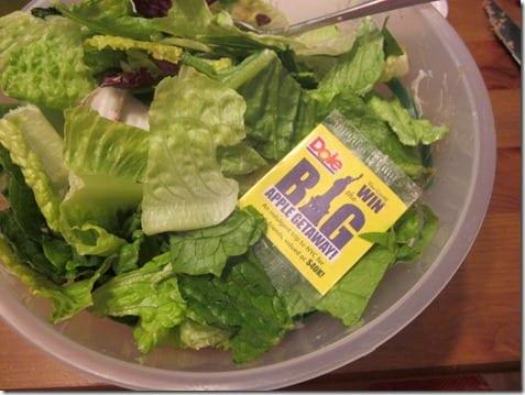 IMG 5906 thumb Salad and a Prize