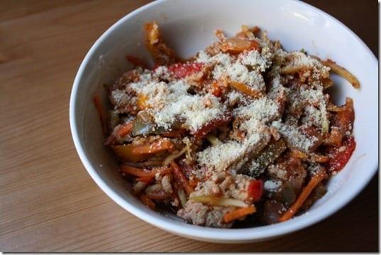 IMG 7862 800x533 thumb Ground Turkey Broccoli Slawghetti Crock Pot Recipe