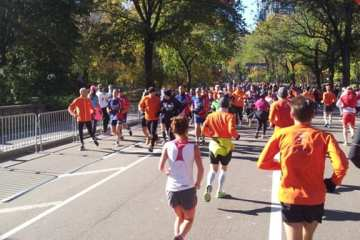 Run to Recover in Central Park