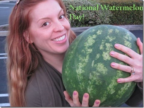 national watermelon day thumb What I'm Loving Wednesday–Watermelon Nuun