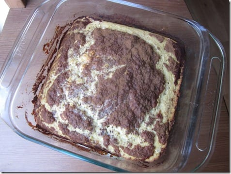 IMG 1107 800x600 thumb Clean Cinnamon Coffee Cake Recipe