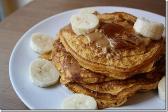 easy pancake recipe thumb Healthy 2 Ingredient Pancake Recipe