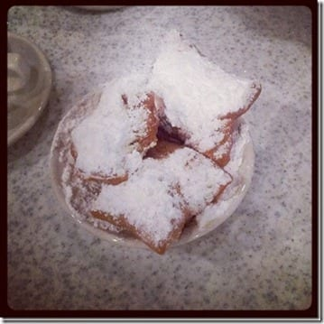 beignets at cafe du monde thumb February Favorite Run and Eat
