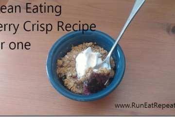 Clean Eating Berry Crisp Recipe