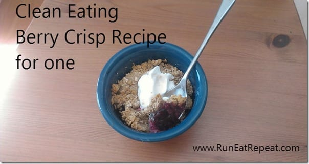 clean eating berry crisp thumb Clean Eating Berry Crisp Recipe