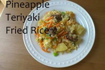 Teriyaki Pineapple Fried Rice