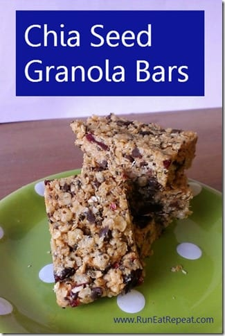 chia seed granola bars thumb How to Eat Like The Best Runners Who Ever Lived