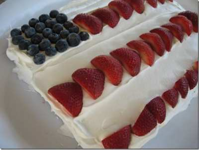 flag cake for fourth of july thumb How to Make Watermelon Flags