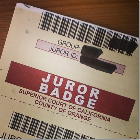 jury duty 784x784 thumb Good News and Bad News