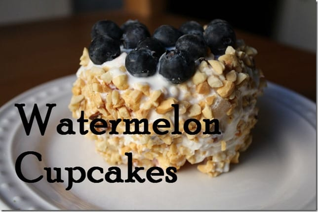 watermelon cupcakes recipe thumb Watermelon Cupcakes Recipe
