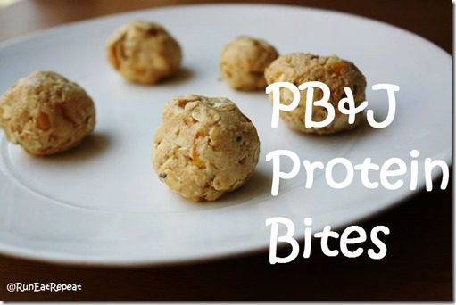 PBJ Protein Bites Recipe thumb PB&J Protein Bites Recipe