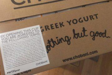 NEW Top Secret Chobani Yogurt Flavors - Giveaway