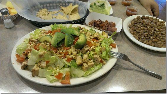 epic salad at lolas thumb Where to Stay and Eat in Santa Rosa