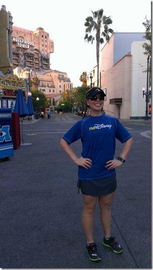running and hollywood tower of terror 450x800 thumb Disneyland Half Marathon Tweet Up Meet Up