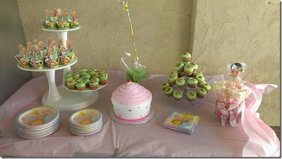 baby shower cupcake table 800x450 thumb Animal Baby Shower