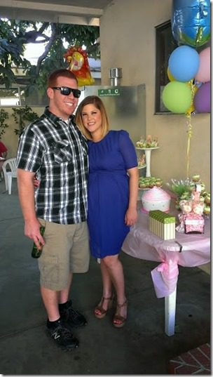 michael and heathie 287x510 thumb Animal Baby Shower