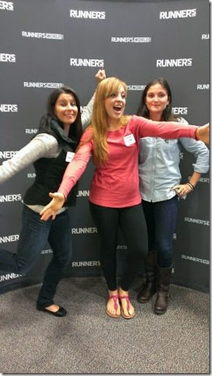 acting silly at runners world 287x510 thumb Runners World Office Tour