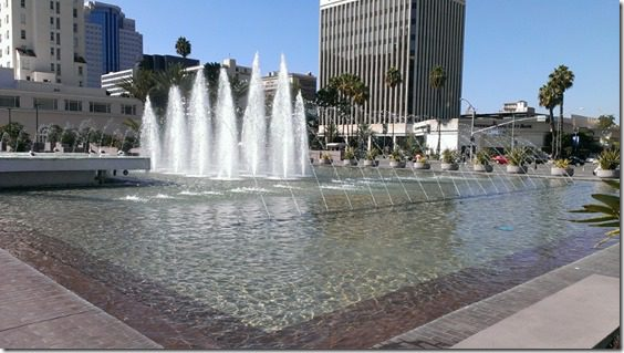 long beach fountains 800x450 thumb My Friday and the Long Beach Marathon Expo
