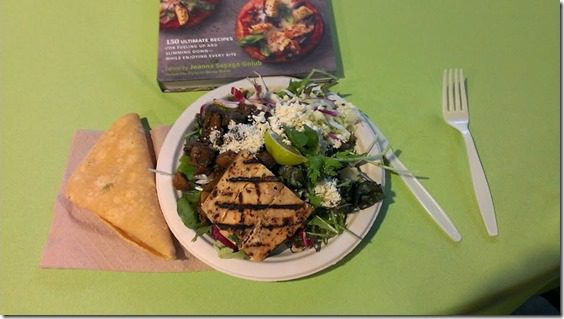 runners world cookbook lunch 800x450 thumb Running with Bart Yasso and Meeting Summer Sanders