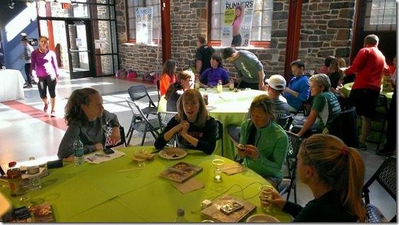 runners world lunch 800x450 thumb Running with Bart Yasso and Meeting Summer Sanders