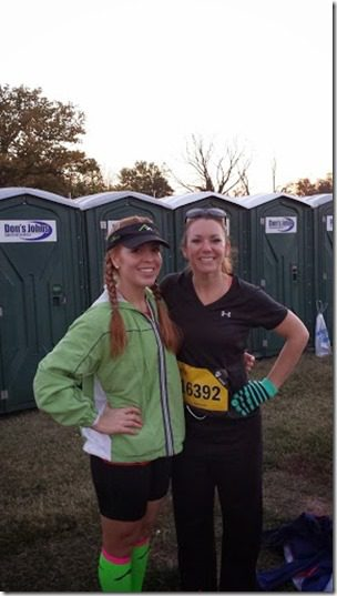 with kate 287x510 thumb Marine Corps Marathon Results and Recap