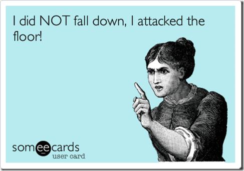 i fell thumb Falling Quota