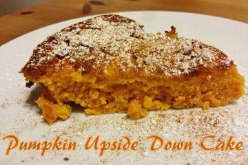 Easy Pumpkin Upside Down Cake Recipe