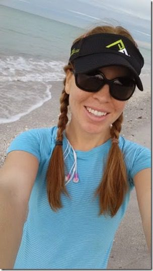 beach running self picture 282x501 thumb Last Day in Florida for 2013