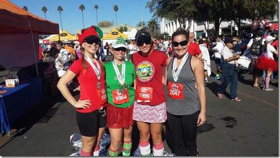 group after half marathon 800x450 thumb Holiday Half Marathon Results and Recap