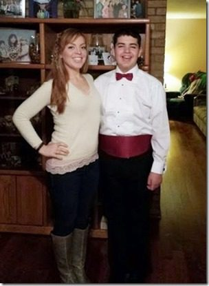 me and matt 376x501 thumb Healthy Holiday Tips and Win $100 from Benefiber
