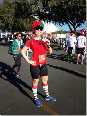 post race holiday half marthon 376x501 thumb Holiday Half Marathon Results and Recap