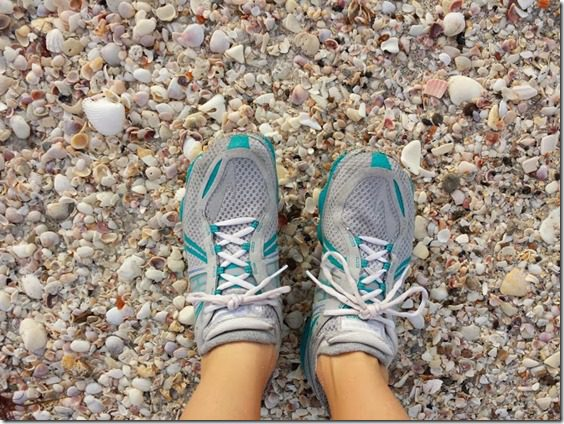 running on sea shells 668x501 thumb Last Day in Florida for 2013