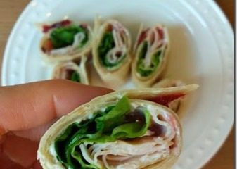 Healthy Turkey Wraps for Lunch
