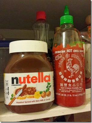 nutella and sriracha 408x544 thumb Camarillo Marathon Results and Recap